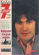 ►Télé 7 Jours 983 (1979) SERGE LAMA_LIONEL HAMPTON_MARION GAME_YVES LAURENT