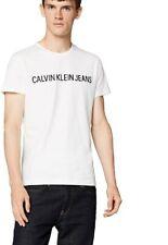 Calvin Klein Jeans Men women Core Institutional Logo Slim Tee T-Shirt size M