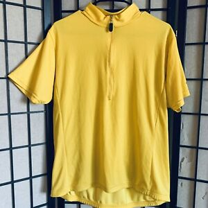 Bellwether S/S Cycling Jersey Yellow XL 1/2 Zip