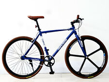 "700C 28"" FIXED GEAR SINGLE SPEED BIKE FAHRRAD FIXIE - LIMITED EDITION - 4 FARBEN"