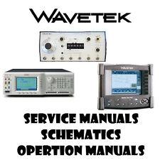 Wavetek Meterman Goltermann Repair Service manuals- PDF manuals DVD - Huge Set