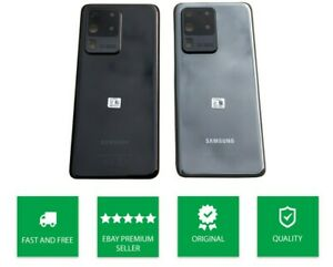 GENUINE SAMSUNG GALAXY S20 ULTRA 5G (G988) REAR BACK GLASS PANEL BATTERY COVER