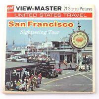 Vintage View-Master Reel Set Packet A167 SAN FRANCISCO CA Sightseeing Tour 1970