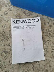 Kenwood Blender Food Processor Jug Mini Chef liquidiser kitchen appliances