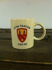 United States Army 377th Support Brigade-TAACOM Coffee Mug-Rare Militaria-CAN DO
