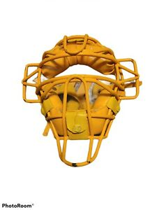 VINTAGE Diamond Catchers Mask Yellow  DFM-43