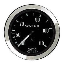 Smiths Mech Classic Water Temp Gauge 52mm Black Dial Chrome Bezel