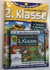 Mein Spaß- u. Lernbuch 2. Klasse Deutsch Mathe Sachkunde m. CD LernSoftware NEU