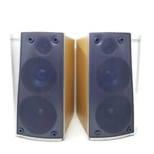 PAIR KENWOOD LS-NV701 FRONT HOME THEATER SPEAKERS 2-WAY SYSTEM WOOD
