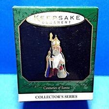 "Hallmark ""Centuries of Santa "" Miniature Ornament 1997"