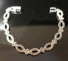 Marcasite Bracelet - Sterling Silver 925 - £85 - Brand New