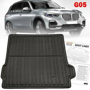 For Bmw X5 G05 2018-2020 Boot Liner Cargo Tray Trunk Floor Mat Tailored Dog Pad
