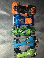 LOT OF 5 HOT WHEELS DRAG RACE TYPE CARS *LOOSE* Rare Snake Brain Cars