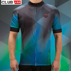Men's Cycling Jersey PRO FIT , Bicycle Clothing  with Coolmax Tech -Size: 3XL