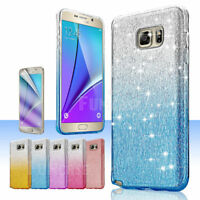 For Samsung Galaxy Note 5 Bling Hard Ultra-Slim Shockproof Armor Case Cover