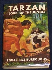 TARZAN LORD OF THE JUNGLE Edgar Rice Burroughs BOYS EDITION 1958 G&D #11 in seri