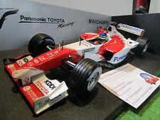F1 TOYOTA PANASONIC TF103 de 2003 DA MATTA au 1/18 MINICHAMPS 100030021 formule1