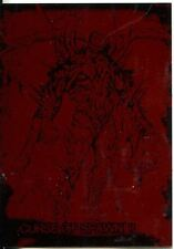Spawn The Toy Files Design Sketch Card Chase Card D8