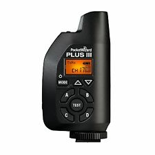 PocketWizard Plus III Wireless flash synchronization transceiver FCC/US:340-354M