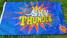 Nos Fireworks Banner Flag Advertising Sign Sky Thunder 1.4 Explosives G1 Warning