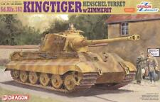 Dragon 6303 1/35 <FULL VER Magic Track>King Tiger Henschel Turret w/Zimmerit