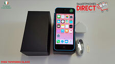 Apple iPhone 5c Blue - 16GB - Network Unlocked - FREE Tempered Glass