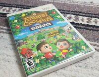 Animal Crossing: City Folk (Nintendo Wii, 2008) No Manual TESTED