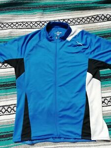 Cannondale Blue/White Cycling Top Jersey X Large