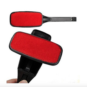 Magic Swivel Pet Hair Lint Dust Brush Remover Clothing Cloth Dry Cleaning Black