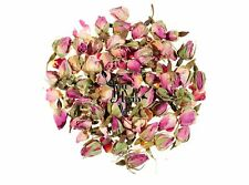Pink Whole Rose Buds Dried Loose Tea 25g-200g - Rosa Centifolia