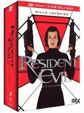 The Resident Evil Collection (5 DVD) - ITALIANO ORIGINALE SIGILLATO -