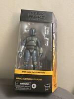 "Star Wars - The Black Series - Mandalorian Loyalist Walmart Exclusive 6"" New"