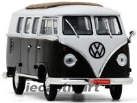 YAT MING 1:18 1962 VOLKSWAGEN VW MICROBUS W/ FABRIC SLIDING ROOF BLACK 1 OF 600