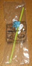 2011 The Smurfs Carl's Jr. Kid's Meal Toy - Smurf Straw