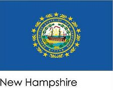 New Hampshire State Flag 3' by 5' with grommets 19530
