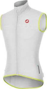 Castelli Fawesome Men's Cycling Vest White Size Large, XL