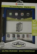 New Griffin Survivor All-Terrain case for 9.7 inch iPad Pro or Air 2, with stand