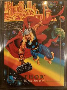 THOR, 1992 Marvel Masterpieces #92 single card