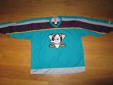 Anaheim Mighty Ducks CCM Hockey Maska Jersey XL NHL shirt XXL