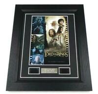 LORD OF THE RINGS FILM CELL THE TWO TOWERS MOVIE MEMORABILIA DISPLAY LOTR GIFTS