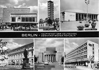 AK, Berlin, Hauptstadt der DDR, sechs Abb., Version 2, gestaltet, 1969