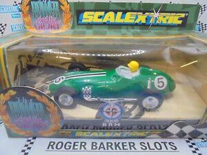 Scalextric C098 Power & Glory BRM F1  green #5 BNIB