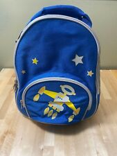 Four Peas Toddler Blue Space Backpack School Travel New 12�x10�x5�