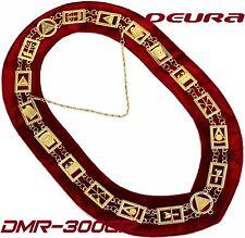 REGALIA MASONIC ROYAL ARCH MARK MASTER COLLAR DMR-300GR 01