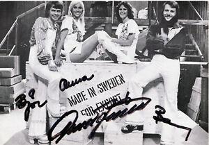 ABBA  Autogramm