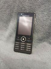 Sony Ericsson G900 Handy Gehäuse schwarz #1 C mobile phone case housing black