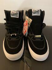 Vans Steve Caballero  - Full Cab Suede Leather Black /Tru Wt US Mens Size 11.5