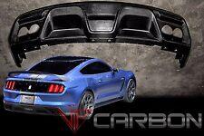 VIPC Ford Mustang Shelby GT350 2015-2016 Carbon Fiber Rear Diffuser Replica