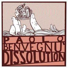 PAOLO BENVEGNU - DISSOLUTION - CD SIGILLATO 2010