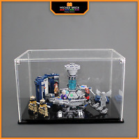 Display stand and case for LEGO Ideas: Dr Who (21304)